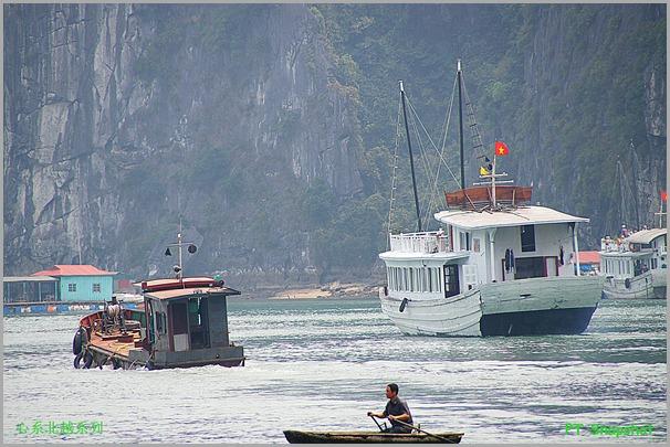小舟中船大船