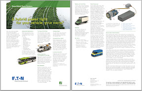 Eaton has published a new educational fact sheet on hybrid electric power systems for commercial trucks.