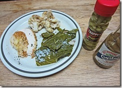 collards with dinner