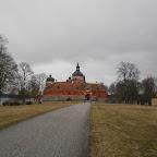 Juste en face de Grafiken Hus, le château royal de Gripsholms Slott