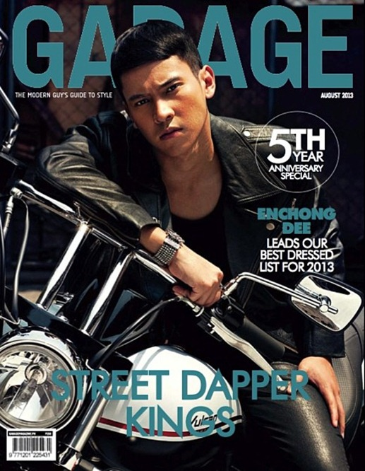 Enchong Dee Garage magazine