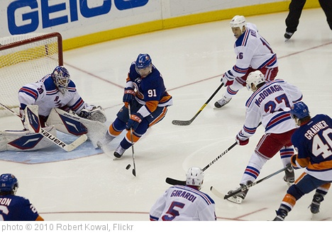 'Rangers vs Islanders' photo (c) 2010, Robert Kowal - license: http://creativecommons.org/licenses/by-sa/2.0/