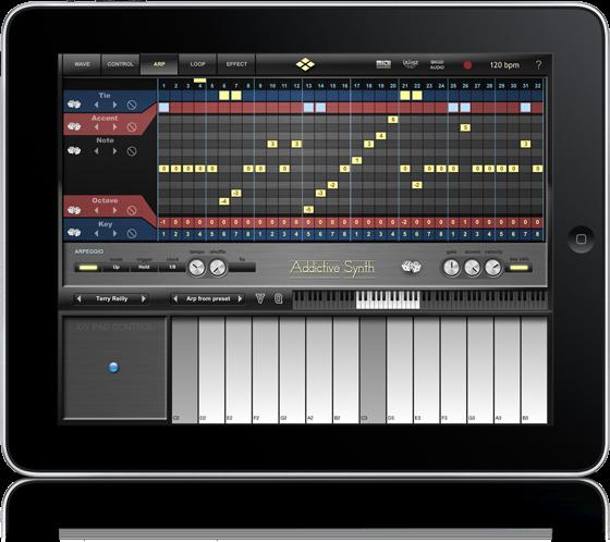 create music on the ipad