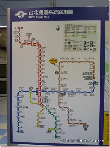 台北捷運內湖線路線圖