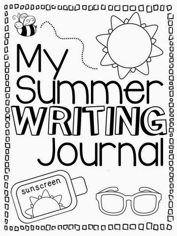summer writing journal end of grade 1 pt 16