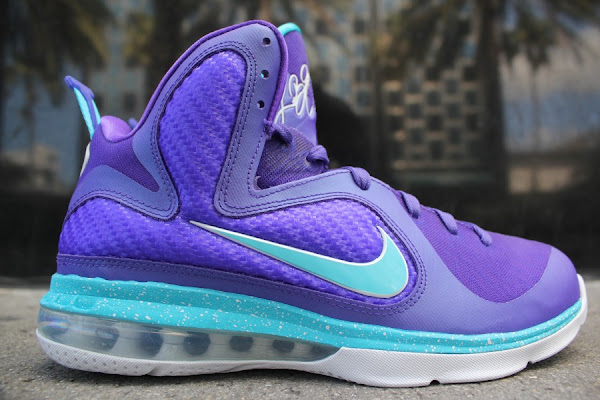 Detailed Look at Nike LeBron 9 8220Summit Lake Hornets8221