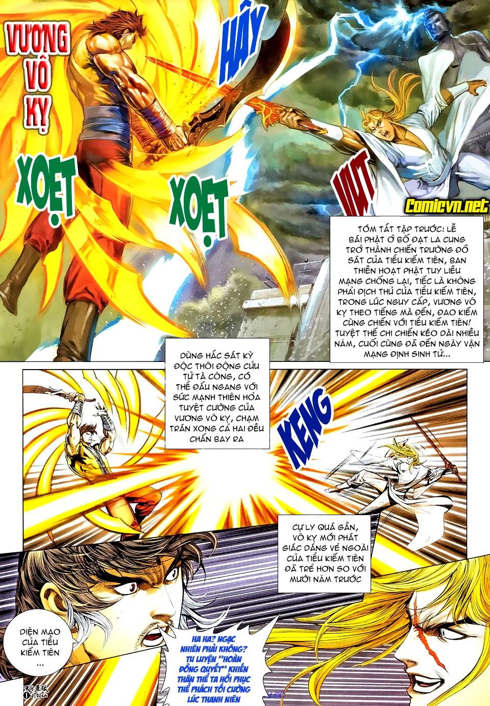 Thiên Hạ Vô Địch Tiểu Kiếm Tiên chap 31 - Trang 2
