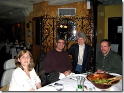2010 03 01 Michele, Marc Stecker, Barbara, Mitch in NYC before first CCSVI procedure