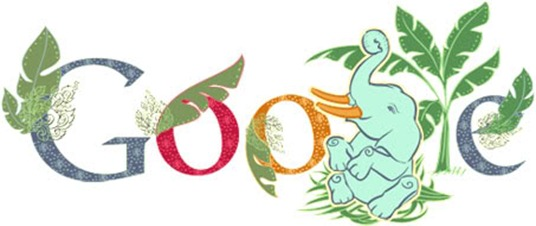 National-Thai-Elephant-Day-Thailand-Doodle