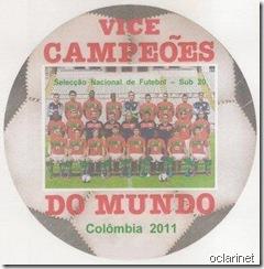 Vice Campeões do Mundo Sub 20 Ago2011