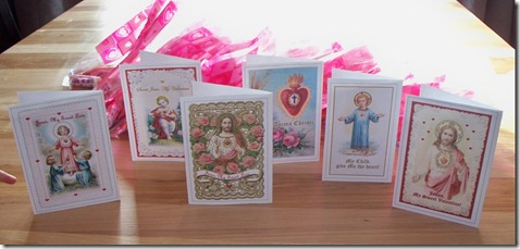 Holy Card Valentines