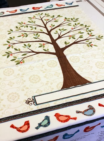 family tree panel from Moda