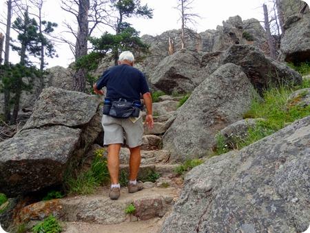Harney Peak stairs