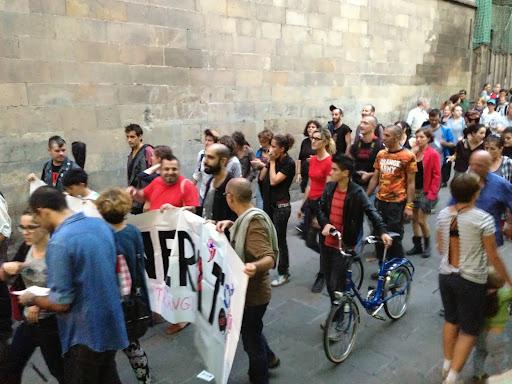 300 personas se manifiestan en Barcelona contra el odio a los transexuales