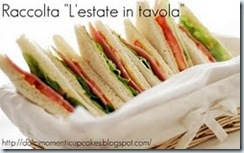 l'estate in tavola