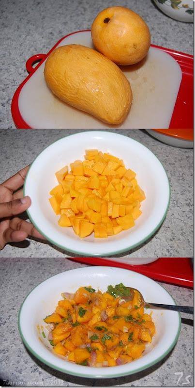 Mango salsa process 2