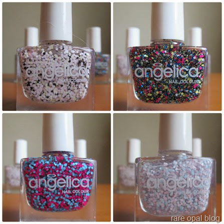 aneglica nail Collage