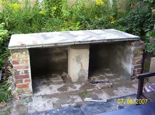 Dach Für Außenküche : Projekt außenküche april