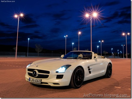 Mercedes-Benz SLS AMG Roadster 8