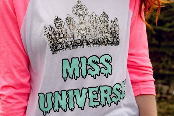 miss universe THE PRETTY JUNK