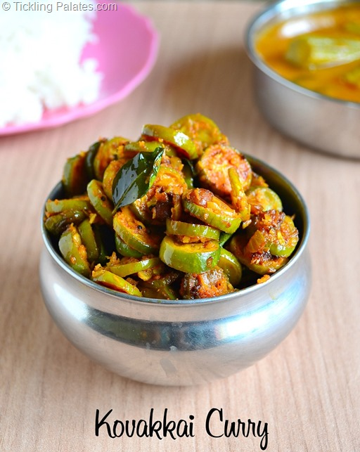 Dondakaya Curry Recipe