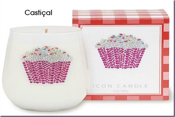 Cupcake-Castiçal