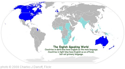 'The English Speaking World' photo (c) 2009, Charles J Danoff - license: http://creativecommons.org/licenses/by/2.0/