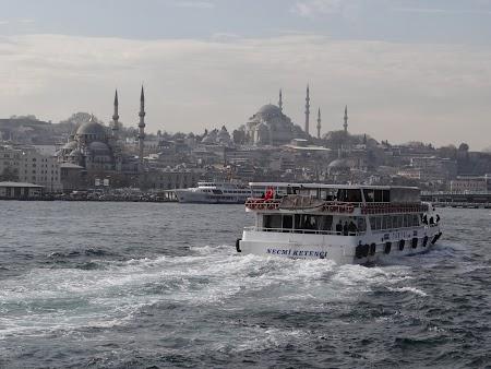 Croaziera pe Bosfor: Spre Constantinopole