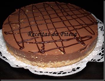 Semifrio de chocolate lado
