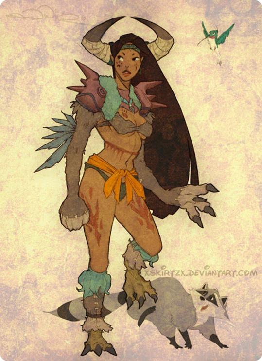 Berserker-Pocahontas