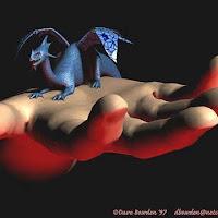 dragon en mano