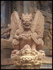 Indonesia, Bali, Kuta Temple Carving, January 2013 (1)