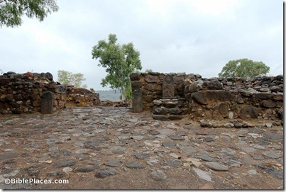 Bethsaida Iron Age gate with stela replica, tb011412616
