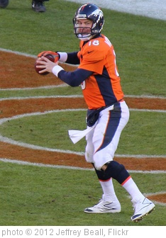 'Peyton Manning getting ready to pass' photo (c) 2012, Jeffrey Beall - license: http://creativecommons.org/licenses/by-sa/2.0/