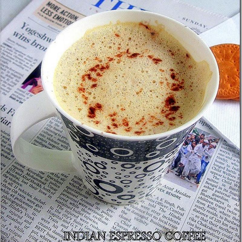 INDIAN ESPRESSO COFFEE | FROTHY ESPRESSO COFFEE | Chitra's ...