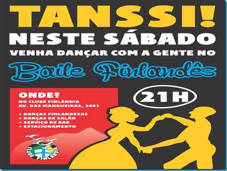 banner-baile convite de sábados