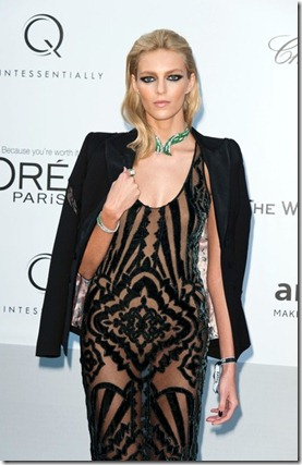 Anja Rubik seen arriving 2012 amfAR Cinema _ubzC9fLJ7Fl
