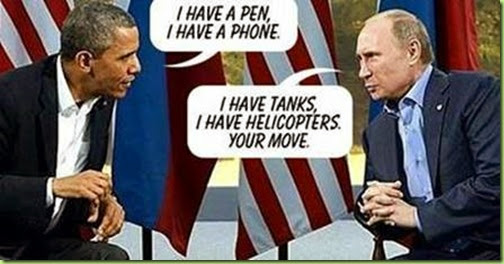 pen and phone v. tanks and helicoptors