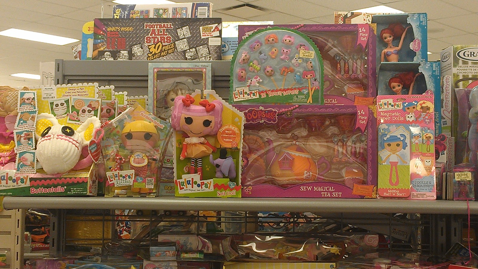 Toys From Tj Maxx : Lalaloopsy in savannah marshalls find