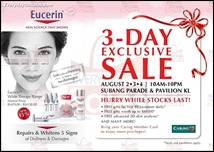 Eucerin Exclusive Sale Lots of Freebies Giveaway 2013 All Discounts Offer Shopping EverydayOnSales