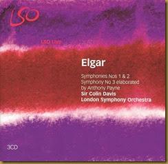 Elgar Sinfonias Colin Davis