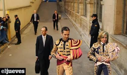 Infanta Cristina, el paseillo