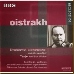 Shostakovich Concierto para violin 1 Oistrakh Rozhdestvensky