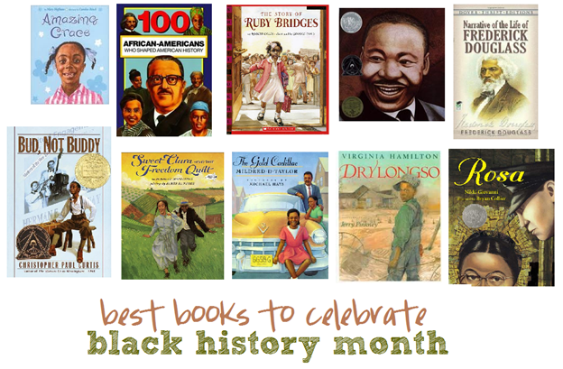 best childrens' books to celebrate black history month