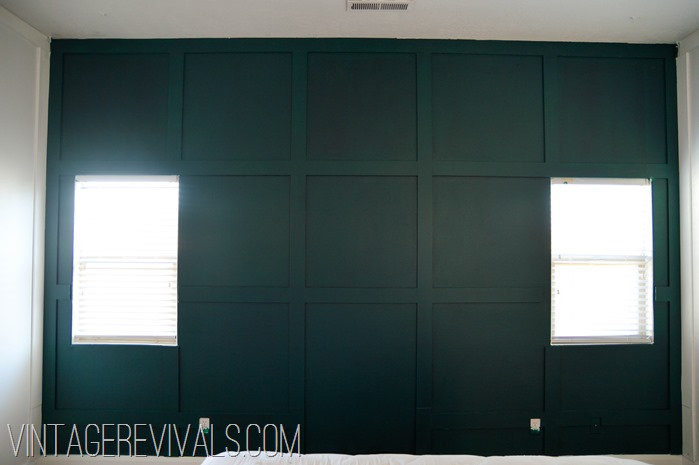 Dark Green Wall-2