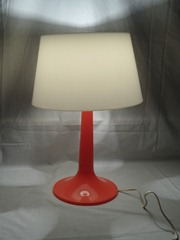 orange Gilbert Products Softlite lamp
