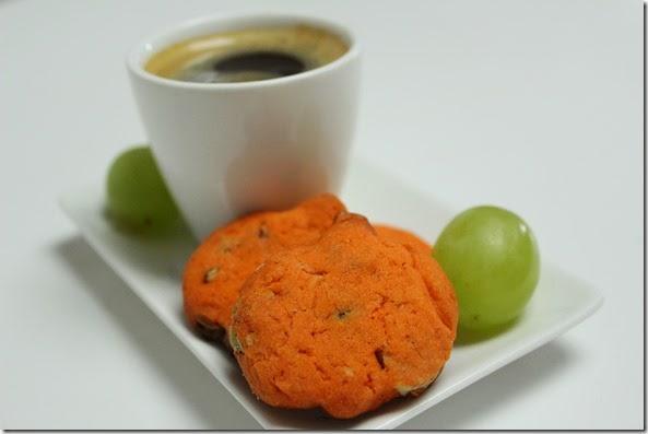 Amandine Cuisine - Cookinada = sirop d'érable, Cranberries, Noix & Chocolat Blanc
