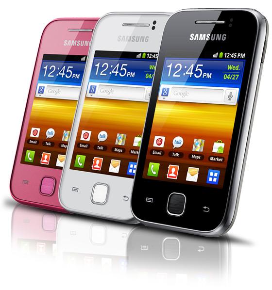 Samsung Galaxy Y S5360 .