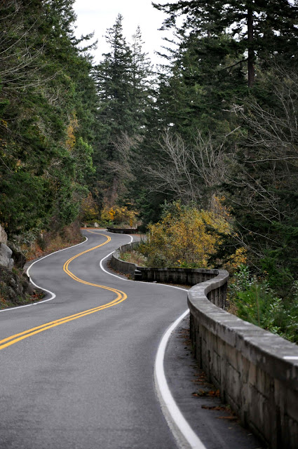 September/October 2011 2nd Place  /Winding road of Chuckanut Drive /Credit: Carol Richardson Marty