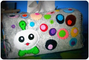 Felt Tissue Box Cover (1)